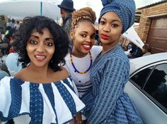 Tswana Traditional Attire 2019 For South African Women - Pretty 4 African Fashion Skirts, South African Fashion, African Fashion Designers, African Print Dresses, African Print Fashion, African Prints, Xhosa Attire, African Attire, African Wear