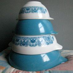 Horizon Blue  - I'm feelin' the vintage kitchen thing.