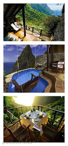 Ladera Resort, St. Lucia #destinations #building #world #architecture #places #art #travel #pheed