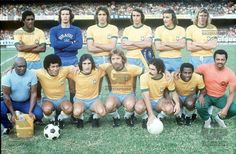 #Brazil 1974 #ZéMaria #Leão #MarinhoPeres #WilsonPiazza #Carbone #MarinhoChagas; #Jairzinho #PauloCésarCarpegiani, #Leivinha #Rivelino #Edu