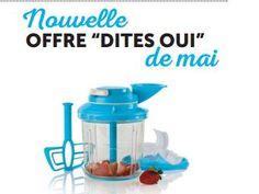 Offre DITES-OUI en mai – Extra Chef 25$   Tupperware Debbie Dufour
