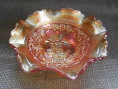 Gorgeous Vintage IMPERIAL Glass Company CARNIVAL by SlimandSugar