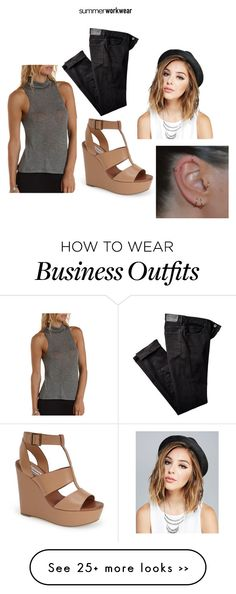 """work wear"" by mrs-rayray94 on Polyvore"