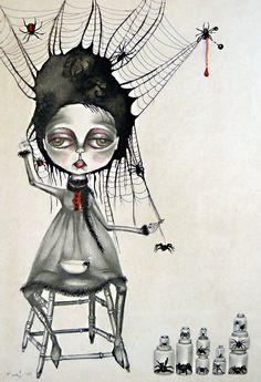 ' Muffet ' by Marie Larkin