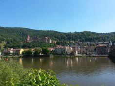 Neckar, Heidelberg