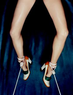 big-time-sensuality: Lara Stone by Tyrone Lebon Sock Shoes, Shoe Boots, Tyrone Lebon, Stiletto Heels, High Heels, Ballet Heels, Allure Beauty, Lara Stone, Ballet Photography