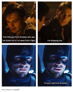 Original Pin: Steve promised himself and the memory of Dr. Erksine that he would never forget where he came from. But it was because of Bucky.Steve never worried that he would. Dc Movies, Marvel Movies, Bucky Barnes, Sebastian Stan, Marvel Dc Comics, Marvel Avengers, Hulk, Captain America And Bucky, Bucky And Steve