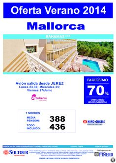Mallorca: 70% hotel Bahamas salidas desde Jerez de la Frontera ultimo minuto - http://zocotours.com/mallorca-70-hotel-bahamas-salidas-desde-jerez-de-la-frontera-ultimo-minuto/