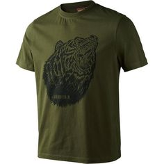 Harkila Fjal T-Shirt #harkila #tshirt #hunting #bear #shooting #country #outdoor #SS16 #green