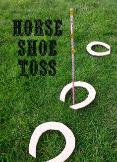 Mothers Madness: Wild West horse shoe toss