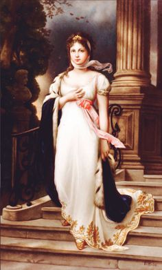 "Queen Louise was called ""The Venus Of Mecklenburg"""