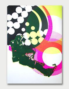 Kate Banazi – Astronaut 1 Silkscreen Poster