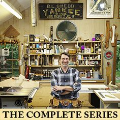New Yankee Work Featuring The Craftsmanship Of Master Carpenter Norm Abram