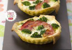 Tartelettes au chevre frais et poitrine | Croquons La Vie - Nestlé
