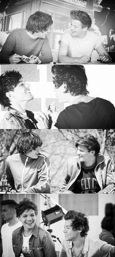 Es 2014, y Harry aún ama a Louis y Louis aún ama a Harry y si tú no estás viendo esto o si te niegas a ver,yo honestamente lo siento por ti.