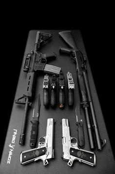 "weaponzone: Title: "" Weapon Buffet "" Credit: Zorin Denu"