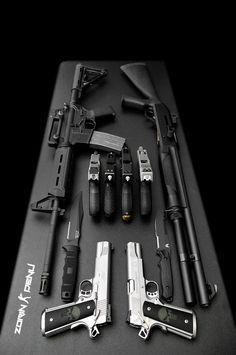 "weaponzone: Title: "" Weapon Buffet "" Credit: Zorin Denu"