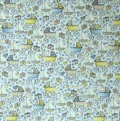 The Paper Studio 12 x 12  Baby Boy Doodle Icons Flat Scrapbook Paper is available at Scrapbookfare.com.