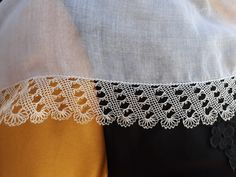 Baby Witch, Needle Lace, Scarf Styles, Lace Shorts, Crochet, Women, Fashion, Linen Tablecloth, Lace