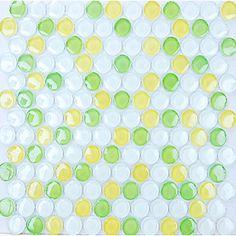 penny glass tile