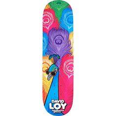 "Birdhouse Skateboards David Loy Fowl Skateboard Deck – 8.37″ x 31.71″: Deck Size: 8.37"" width x 31.71"" length Birdhouse Skateboards Fowl…"
