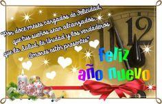 Feliz Año nuevo con mucho amor para compartir en redes sociales