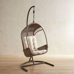 Swingasan® Luna Star Brown Hanging Chair