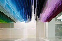 Colorful Installation in Tokyo by Emmanuelle Moureaux – Fubiz Media #art #colors www.agencyattorneys.com