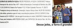 EDGAR RIBEIRO: DENÚNCIA GRAVE: NA PREFEITURA DE SÃO JOÃO DOS PATO...
