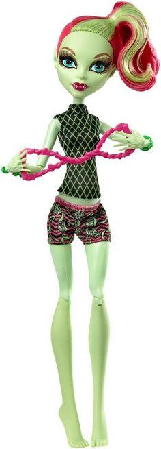 Venus fangtastic fitness doll mattel