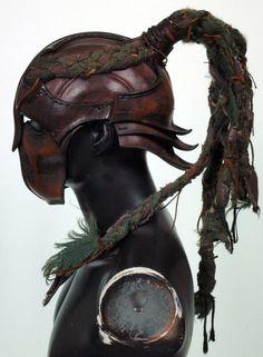 Wood Elf Helmet (side view) by Valimaa on deviantART