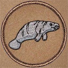 Manatee Patrol Patch (#083)