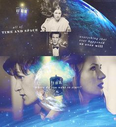 Of all time and space... everything that ever happened or ever will... where do you want to start? - Fanart <3 - doctor-who Fan Art
