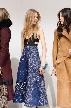 Burberry Prorsum Fall 2015 RTW Backstage – Vogue