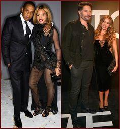 #Beyonce, #JayZ, #SofiaVergara And #JoeManganiello...