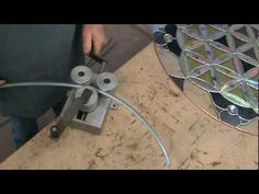 stained glass dichroic panel dsg38b flower of life - Dichroic Glass Man - YouTube