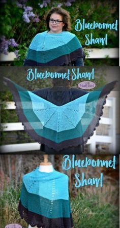 You are here: Home / FREE Crochet Patterns / Bluebonnet Crochet Lace Shawl BLUEBONNET CROCHET LACE SHAWL Time to get the FREE Crochet Pattern-Bluebonnet Crochet Lace Shawl on your hook. This fashionable and fun accessories will become a favorite of yours. So, grab your favorite color of It's a Wrap™ yarn, a hook and let's get started! You will be done by the end of the weekend.