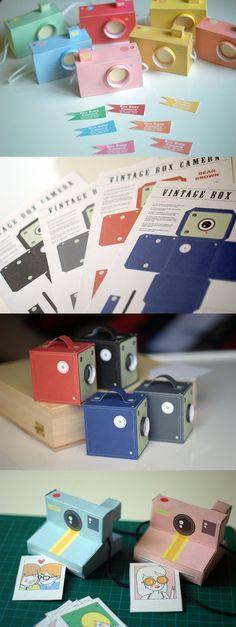 paper cameras :)