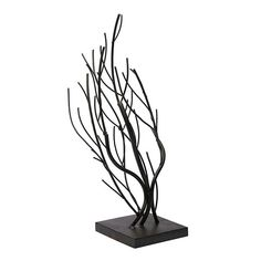 Three metal trees in a rustic metallic finish are mounted to a weighted base. With its profusion of metal branches, this tree display holds a variety of necklaces, bracelets, chains and other jewelry for an artful, natural presentation. Fabric Display, Bold Jewelry, Metal Tree, Willow Tree, Jewellery Display, Jewelry Making Supplies, Jewelry Findings, Incense, Metallica