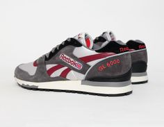 #Reebok GL6000 Grey Burgundy #sneakers