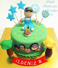 Sibel'in Tarif Defteri                           Sibelle Butik Pasta ve Kurabiye Tasarımı: PEPEE PASTASI -8 VE KURABİYELERİ