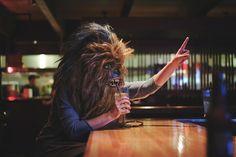 Tributo fotográfico a Chewbacca en el MundoReal