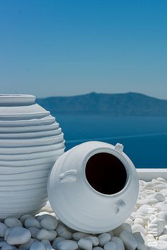 Santorini island, G r e e c e Santorini Island, Santorini Greece, Crete Greece, Athens Greece, Greek Decor, Myconos, Greek Blue, Mediterranean Style, Greek Islands