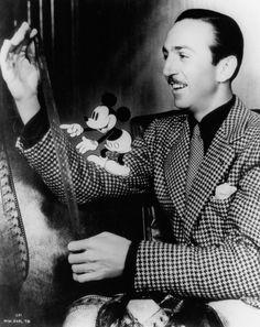 Walt Disney in the early years.
