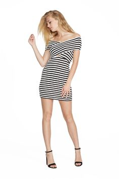 Capri Stripe Mindy Dress. Clayton 2016 Resort Collection.