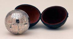 Terrestrial pocket globe - National Maritime Museum 1800