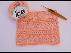 Crochet stitch very easy crochet  Crochet Coat, Crochet Hooks, Free Crochet, Crochet Designs, Crochet Patterns, Easy Crochet Stitches, Cute Stitch, Baby Girl Crochet, Crochet Crop Top