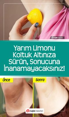 Apply Half Lemon To Your Armpit, You Won& Believe The Result! Homemade Skin Care, Diy Skin Care, Skin Care Tips, Skin Care Diy Blackheads, Hair Shaver, You Rub, Nose Hair Trimmer, Beard Lover, Natural Home Remedies