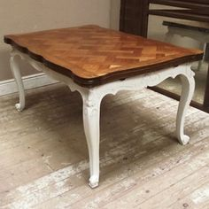 #lucyretrochic.com        #table                    #French #table #shabby #chic #style                 French table in shabby chic style                                             http://www.seapai.com/product.aspx?PID=214407