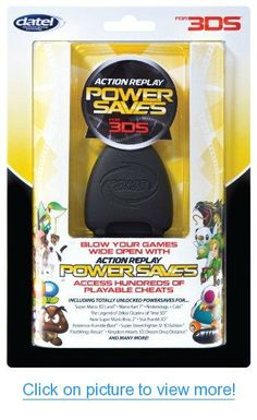 Action Replay Powersaves Cheat Device for Games - ToyCorridor Nintendo 3ds Games, Xbox Games, Latest Pc Games, New Video Games, Toy Sale, Toys Shop, Replay, Cheating